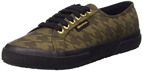 Superga 2750-cotupieddepoule, Sneaker, Unisexe - Adulto C26 Pdepoule Militaire