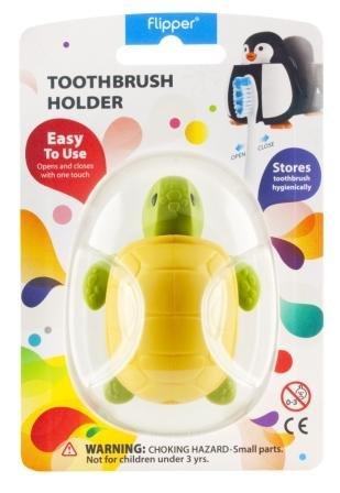 Flipper Toothbrush Holder Splash Turtle