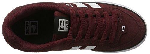 Globe Jungen Encore-2 Sneaker Rot (wine/white)