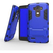 Carcasa para LG G4 Funda Slim Layer Tough Armor Protección contra Caídas PC+TPU-Azul