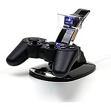 MP power @ Dual Base Cargador Soporte Estaciónes muelle de la estación para Playstation 3 PS3 ps 3 Mando Controlador Gamepad Joypad