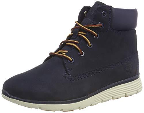 Timberland Unisex-Kinder Killington Klassische Stiefel Blau (Black Iris Nubuck 19), 33 EU