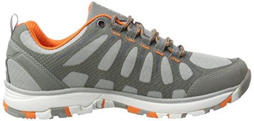 Ice Peak Wattana, Chaussures Multisport Outdoor Homme Argent (Silver)