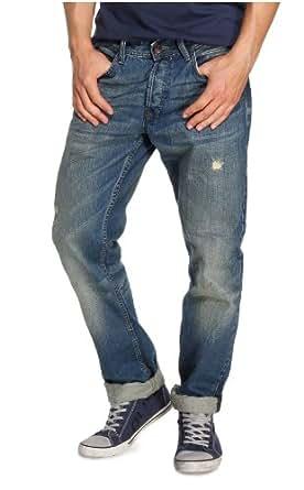 QS by s.Oliver Herren Jeans Normaler Bund 40.307.71.2301, Gr. 30/32, Blau (56Y4)