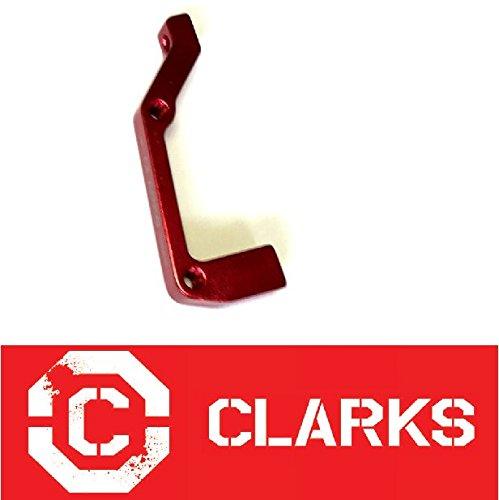 Clarks Bremsscheiben Adapter IS Rear 180mm Rot - Clark-adapter