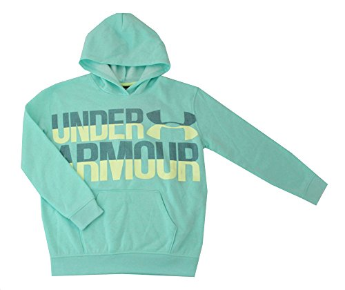 Under Armour Youth Girls Athletic Spring Hoodie (Crystal, M 10-12) (Girls Under Armour Schuhe)