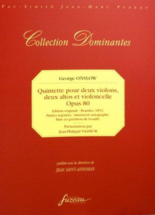 33e quintette pour deux violons, deux al...