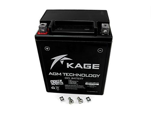 GEL Batterie KAGE YB14-A2 14AH für Arctic Cat Honda Kymco Linhai