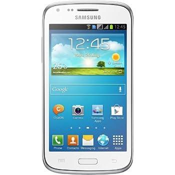 Samsung Galaxy Ace 3 Smartphone (10,2 cm (4 Zoll) Touchscreen, Dual-Core, 1,2 GHz, 1GB RAM, 5 Megapixel Kamera, Android 4.2) weiß