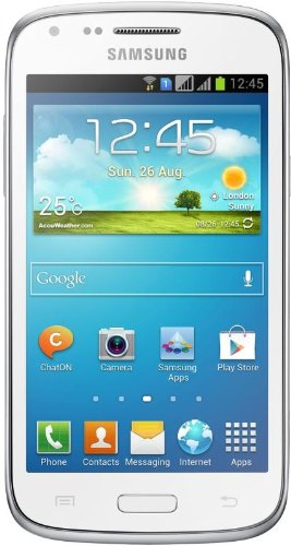 Samsung Galaxy Ace 3 Smartphone, Display 4 pollici, Dual-Core, 1,2 GHz, 1GB RAM, Fotocamera 5 MP, Android 4.2, Bianco [Germania]