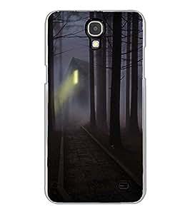 YuBingo Samsung Galaxy Mega 2 SM-G750H 2D Designer Phone Back Case Cover ( Haunted House )