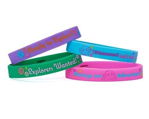 ora The Explorer Rubber Bracelets Party Supplies (4 Count) by Dora the Explorer ()