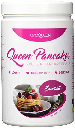 PROTEIN PANCAKE MIX | mehr Eiweiß weniger Zucker | schnell und einfach zubereitet | Pfannkuchen Backmischung | Queen Pancakes Snowball | GymQueen | 500g