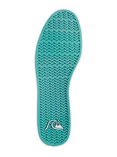 Quiksilver Shorebreak Slip M Shoe Xkwg, Baskets Basses homme Multicolore - Mehrfarbig (Black / White / Green)