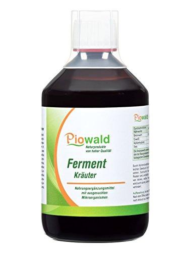 Flüssig Darmreinigung (Piowald Ferment Kräuter - 500 ml)