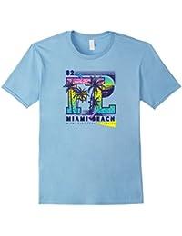 Miami Beach - Cool 80s Retro Style Spring/Summer T-Shirts