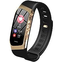 Pulsera inteligente con pantalla a color, modo de control del sueño con ritmo cardíaco,