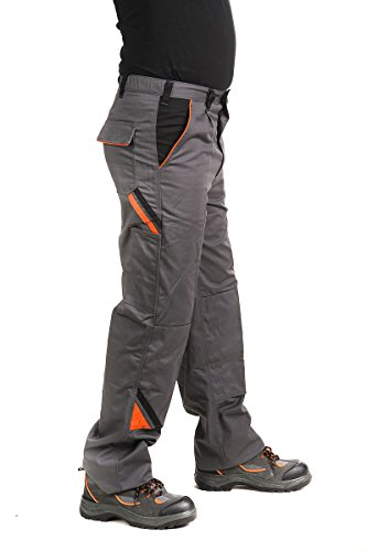 Bundhose Arbeitshose Arbeitskleidung Hose 320g/m2, grau PROFESSIONAL, Gr. 46-64 (48, grau)