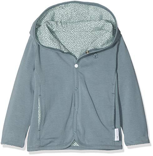 Noppies Unisex Baby U Cardigan rev Haye Strickjacke, Grün (Grey Mint C175), 74