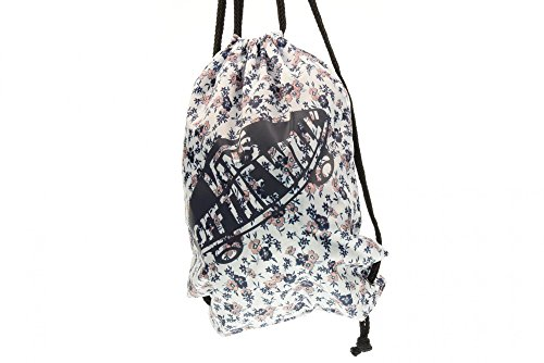 Vans Benched, Damen Rucksack, Mehrfarbig (floral Mix/black/turquoise), One Size Mehrfarbig (White Ditsy Blooms)