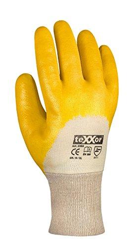 144 Paar - Nitril-Handschuhe Strickbund - teXXor® - 2356 - Größe 11