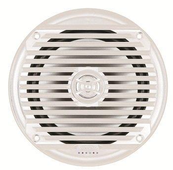 Jensen Marine Audio (Jensen MS6007WR 16.51 cm Koaxial Marine Lautsprecher, 60 W, weiß, von ASA Electronics Paar)