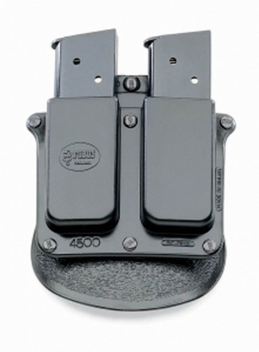 Fobus Roto Paddle 4500RP Double Mag Pouch Single Stack .45 by Fobus -