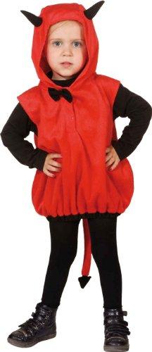 kleiner Teufel Kinder Kostüm als Satan zu Halloween Karneval Gr.104