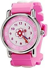 Zeiger Reloj para niñas-caucho de silicona banda-profesor de tiempo reloj-diseño Tribal-aigulles analógico pantalla Cuarzo time-teacher-regalo de Navidad