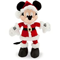 Disney Santa Mickey Mouse Plush - Small - 9