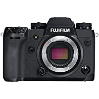 Fujifilm X-H1 Camera Body with Vertical Battery Grip - Black