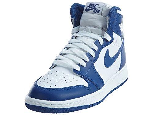Nike  575441-127, espadrilles de basket-ball garçon Multicolore - Obsidian Blue