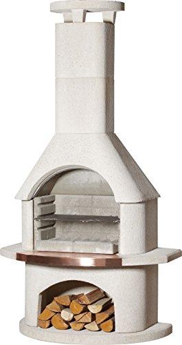 54cm Venezia Masonry Charcoal Barbecue