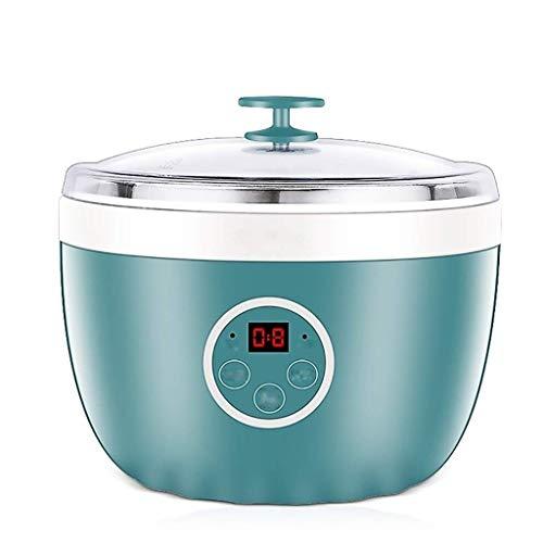 Unbekannt Post Digital-Joghurt-Maschine, geeignet for Familien Frühstück, Edelstahl-Liner multifunktionales Joghurt-Maschinen, automatische Timer-Anzeige frisch und gesund