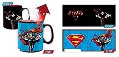 Idea Regalo - ABYstyle - DC Comics - Tazza Cambia Colore con Calore - 460 ml - Superman