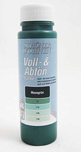 Voll- und Abtönfarbe Moosgrün 250 ml