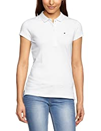 Tommy Hilfiger New Chiara - Polo - Uni - Manches courtes - Femme