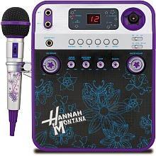 Disney Hannah Montana Karaoke + Video Kamera-Violett (hm950kc)