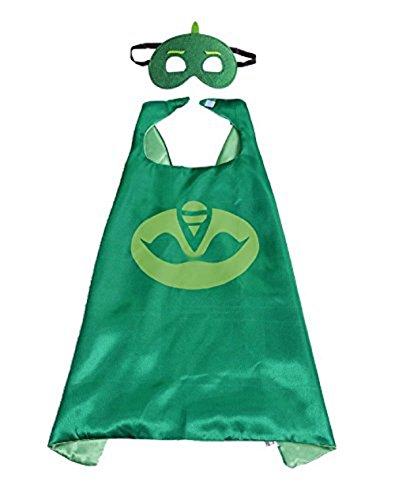 Inception pro infinite costume di carnevale - set maschera e mantello - bambini - super eroe - geco - travestimento - halloween - cosplay - taglia unica