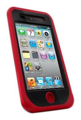 iSkin Duo Schutzhülle für Apple iPod Touch 4G rot Iskin Touch Duo