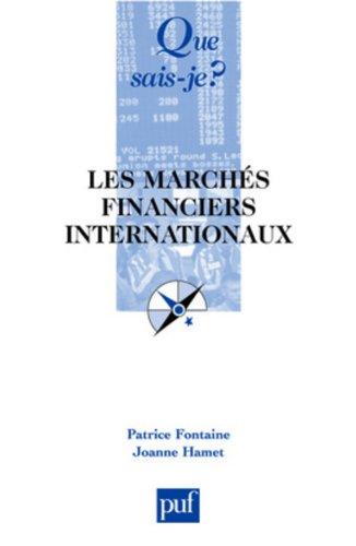 Les marchés financiers internationaux : Le marché international des capitaux