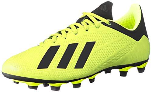 adidas Herren X 18.4 FG Fußballschuhe Gelb (Amasol/Negbás/Ftwbla 001) 42 EU