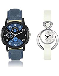 Lorem Most Stunning Dial Graphics Watch With A Blue Black Dial Perfect Couple Combo With Most Perfect Watch Combo...