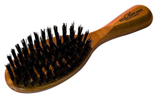 Croll & Denecke 20266 Brosse à cheveux ovale en bois d'olivier
