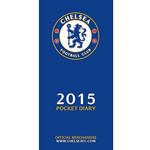 Avec idées-officiel Chelsea FC Agenda 2015 de poche-A Great présents pour les Fans de Football