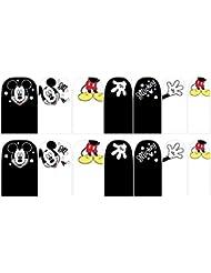 # Mickey Stickers Nail Wrap autocollants C6#