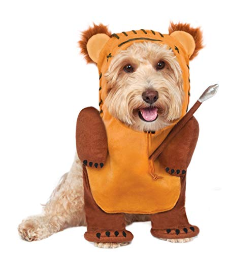 Rubies Costume Star Wars Running Ewok Pet Kostüm, groß