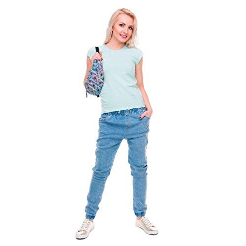 [Sport Hüfttasche] OverDose Mode Unisex Running Gürtel Taille Tasche Läuft Tasche Travel praktisch Wandern Sport Gürteltasche Taille Gürteltasche Zip C