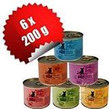 Catz Finefood 6 x 200 g Mix-Paket 6 Sorten Katzenfutter