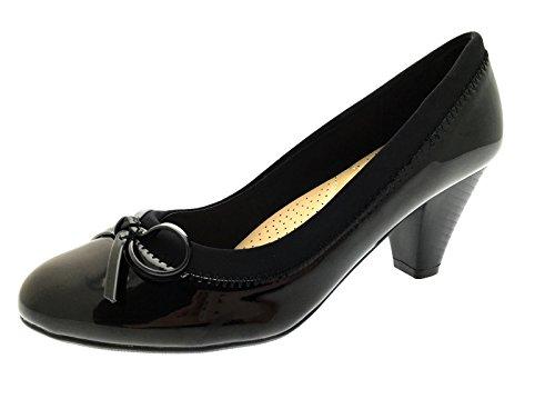 Lora Dora Womens Mary Jane Mid Heel Comfort Shoes Size UK 5